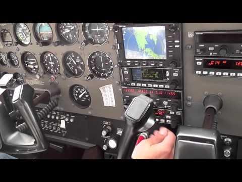 Cessna 172 Port Hawksebury to Debert (Nova Scotia - Canada)