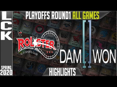 KT vs DWG Highlights ALL GAMES | LCK Spring 2020 Playoffs Round 1 | KT Rolster vs Damwon Gaming
