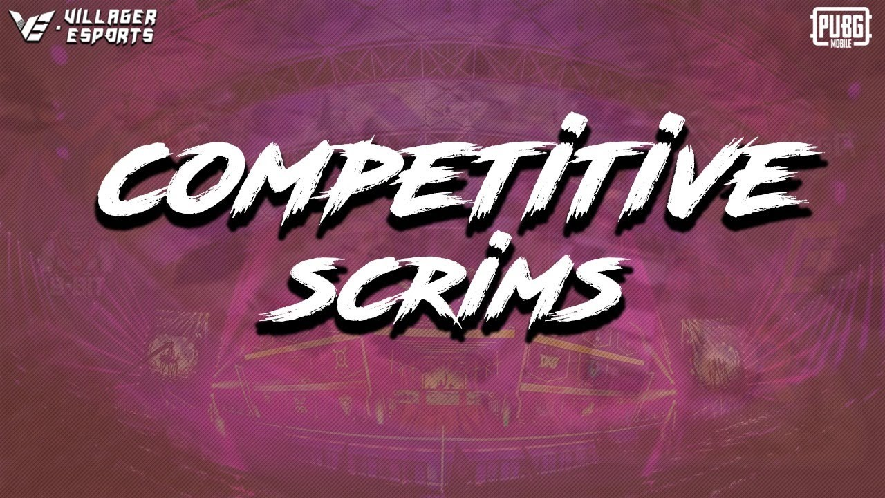 #VE - Competitive Scrims • PUBG Mobile • Villager Esports - Day 12 #PMIS & #PMCO Grind