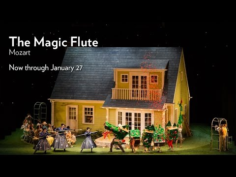 Mozart's THE MAGIC FLUTE at Lyric Opera of Chicago. Onstage Now through January 27