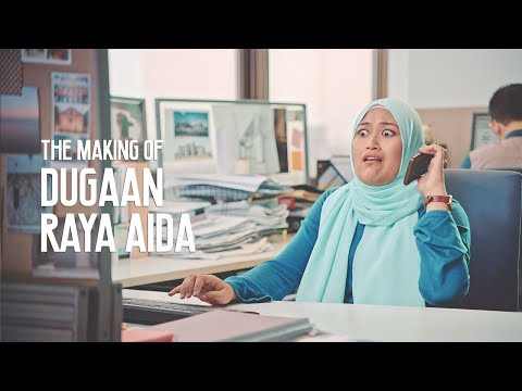 The Making of Iklan Raya TNB 2017 - #DugaanRaya Aida