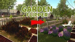 REFORMANDO UM JARDIM NO HOUSE FLIPPER | Garden Flipper