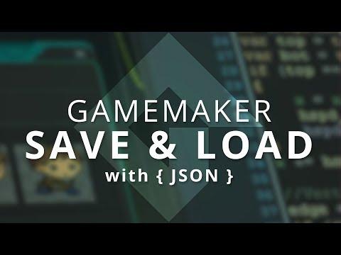 GameMaker - Better Saving & Loading (JSON)