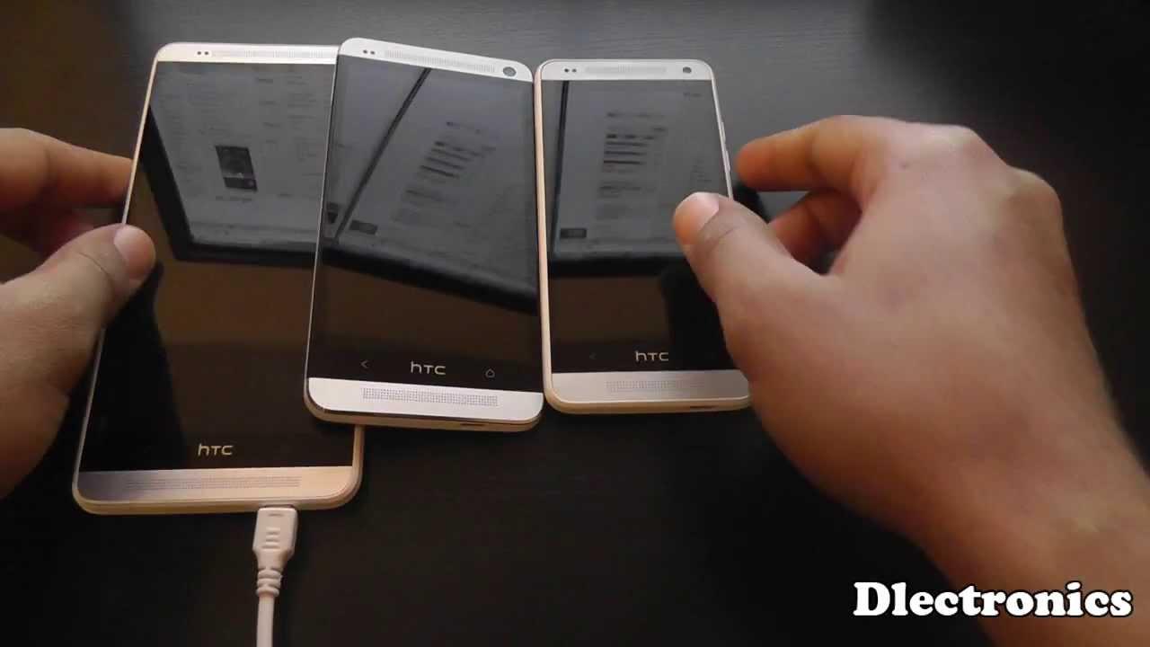 HTC One Max vs HTC One vs HTC One Mini - Size Comparison ...