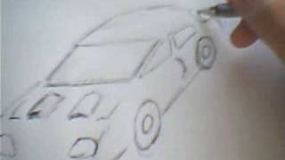 Cars For Races Drawing