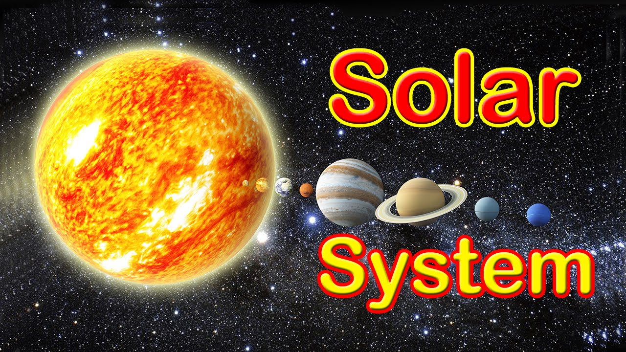 Planets In Our Solar System - YouTube