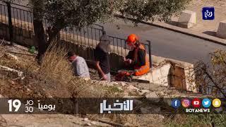 قوات الاحتلال تقتحم مقبرة باب الرحمة بالقرب من المسجد الأقصى وتعبث بها - (11-12-2017)
