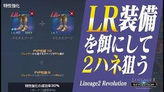 【リネレボ】LR装備を特性強化に使って2ハネ成功を狙った結果《リネージュ2 レボリューション》