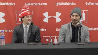 BU Hockey - Logan Cockerill, Brandon Hickey (3/10/18) vs UConn (HEQF G2)