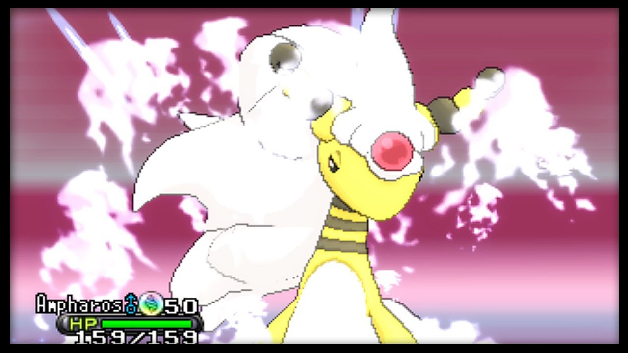 how to get ampharos in pokemon y