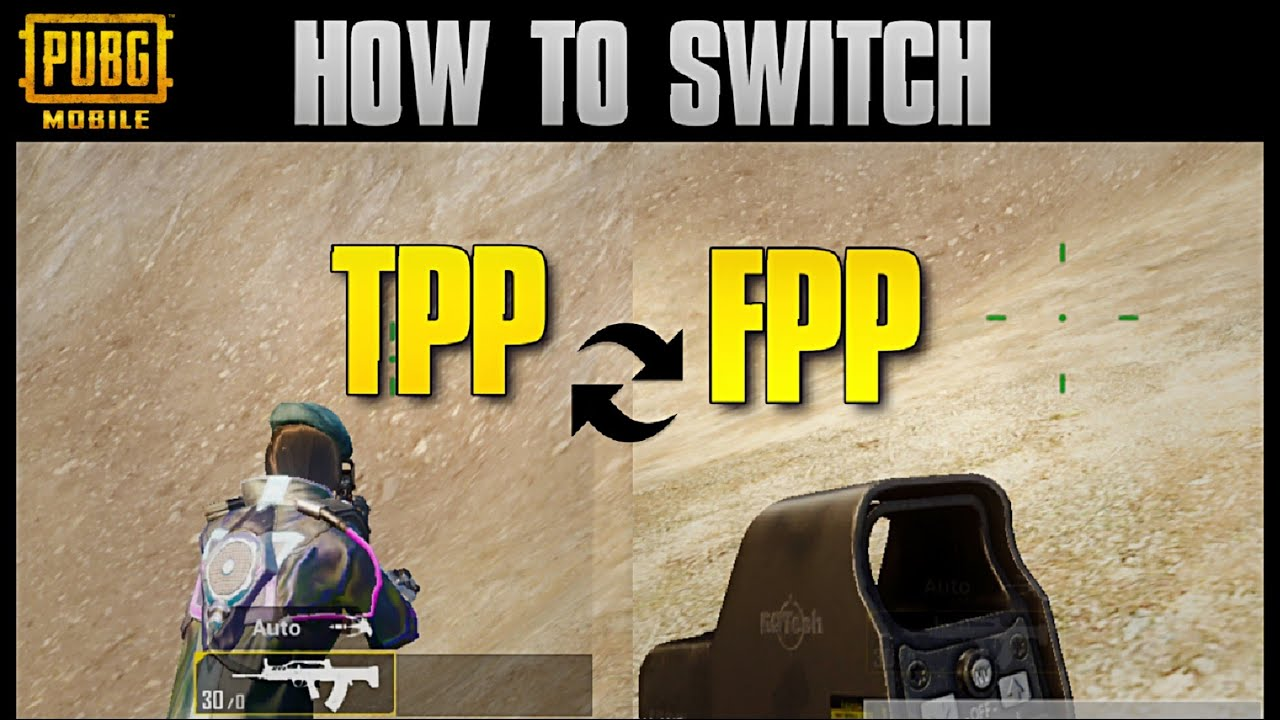 Pubg Mobile New Trick Switch Tpp To Fpp In During M!   atch 100 - an error occurred