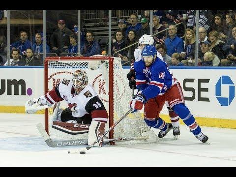 NHL 18 PS4. REGULAR SEASON 2017-2018: Arizona COYOTES VS New York RANGERS. 10.26.2017. (NBCSN) 1 !