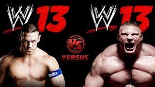 John Cena VS Brock Lesnar ( Steel Cage ) - WWE 13 ( Xbox 360 )
