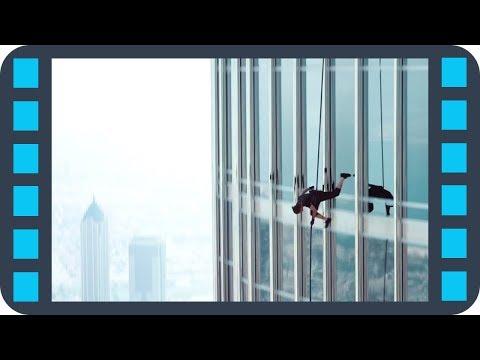 Экстремальный спуск — «Миссия невыполнима: Протокол Фантом» (2011) Сцена 6/8 QFHD