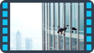Экстремальный спуск по небоскребу — «Миссия невыполнима: Протокол Фантом» (2011) сцена 6/8 HD