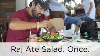 End of Year Vlog / Raj Ate Salad | Awesome Wave