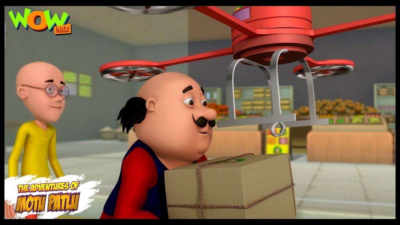 Download Motu Patlu New Episode | Cartoons | Kids TV Shows | Drone Delivery | Wow Kidz