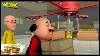 Motu Patlu New Episode  Cartoons  Kids TV Shows  Drone Delivery  Wow Kidz