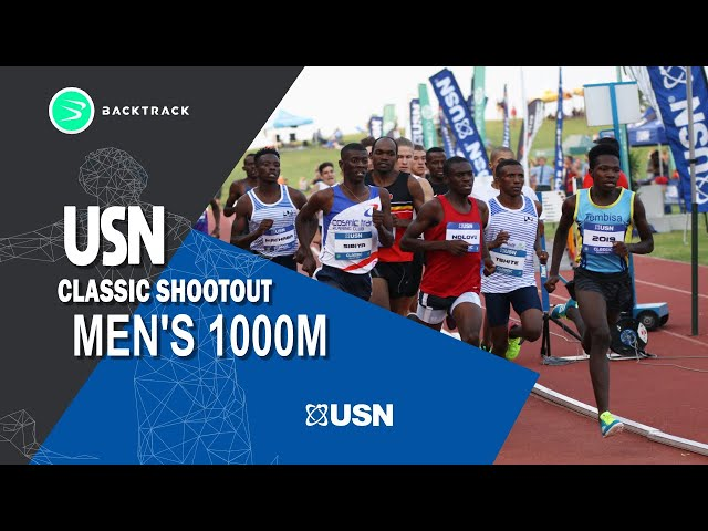 Tshite crowned 2019 Classic Shootout 1000m champion!