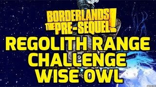 Borderlands: The Pre-Sequel Challenges - Regolith Range - Wise Owl ECHO LOCATIONS