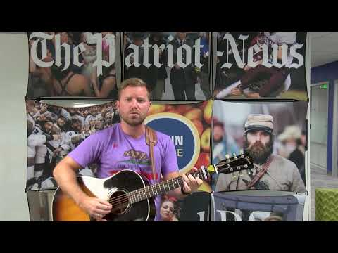 Sean Marshall sings 'Forget You' at PennLive sound check