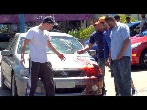 Derren Brown Car Accident