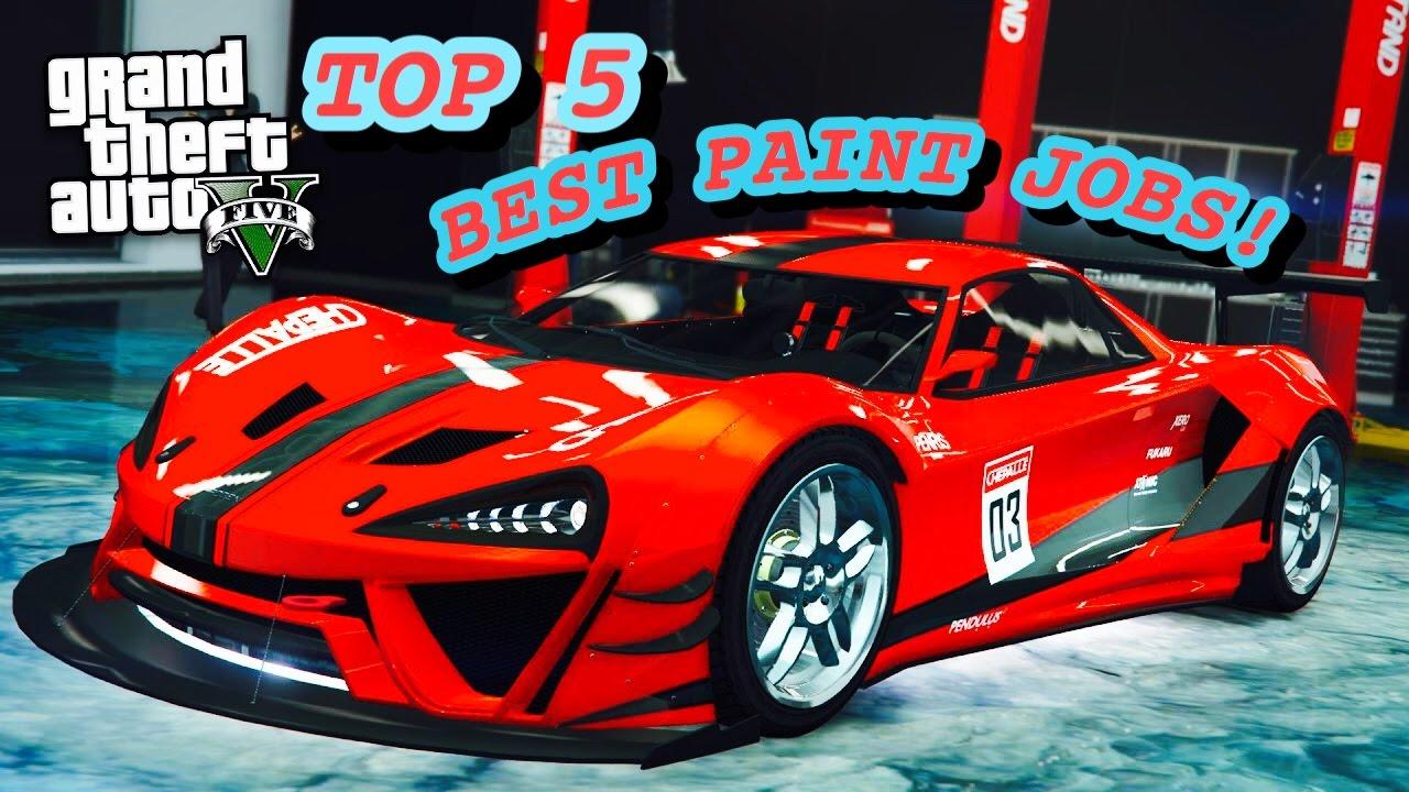 TOP 5 BEST/SICKEST PAINT JOBS OF THE NEW PROGEN ITALI GTB CUSTOM! (GTA 5  ONLINE )