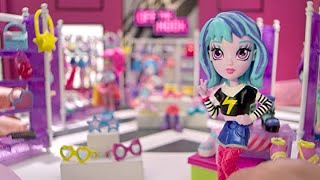Off the Hook Style BFFs Naia and Jenni Spring Dance 4 Small Dolls with Mix and Match Fashions