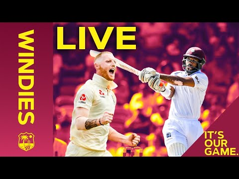 LIVE FULL Replay   Windies V England 1st Test Day 1 - FULL DAY   Windies
