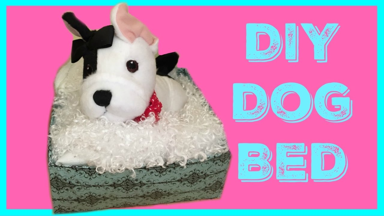 DIY American Girl Doll Pet Bed - YouTube