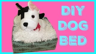 How To Make An American Girl Dog Bed