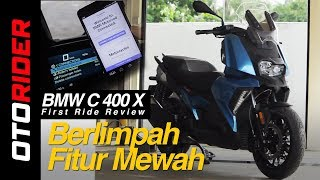 BMW C 400 X First Ride Review - Indonesia | OtoRider