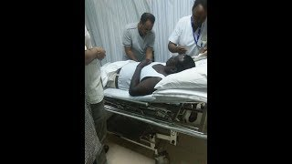 NASA Presidential candidate Raila Odinga is currently under observation at Mombasa Hospital
