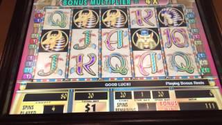 Cleopatra 2 high limit slot bonus