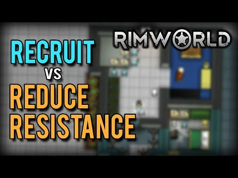RimWorld Prisoners - Recruit or Reduce Resistance? (RimWorld 1.0 Recruitment Guide)