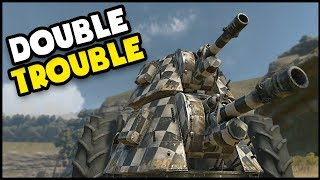 Crossout - DOUBLE TROUBLE! How Many Hits Does It Take!!? (Crossout Gameplay)