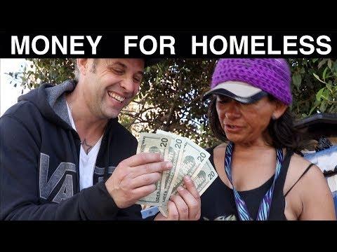 Money Magic for Homeless -Julien Magic