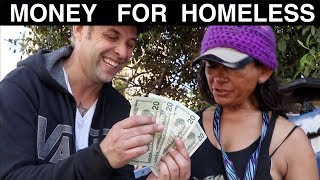 Money Magic for Homeless -Julien Magic