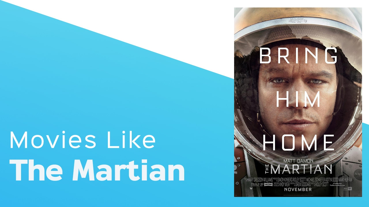 Download Top 5 Movies like The Martian - itcher playlist