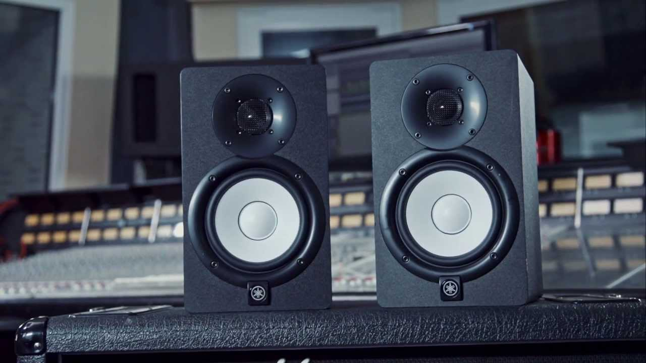 Studio monitor speaker review yamaha hs5 youtube for Yamaha hs5 no bass
