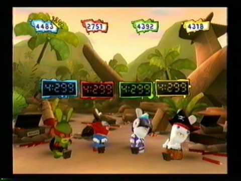 Rayman Raving Rabbids 2 Multiplayer 2 Part 2 |