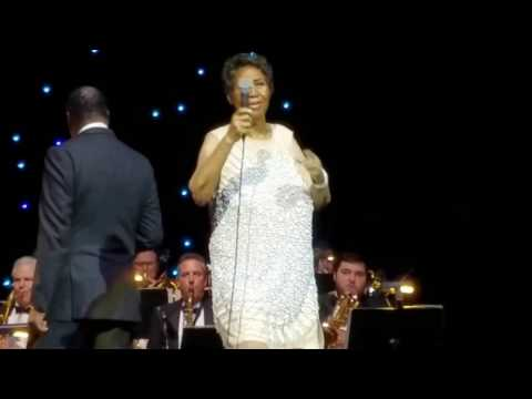 Aretha Franklin 75th Birthday Show Let them Eat Cake!