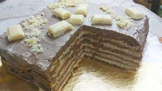 Потрясающий Торт  Без Выпечки. Бесподобно Вкусный.. Торт На Скорую Руку.
