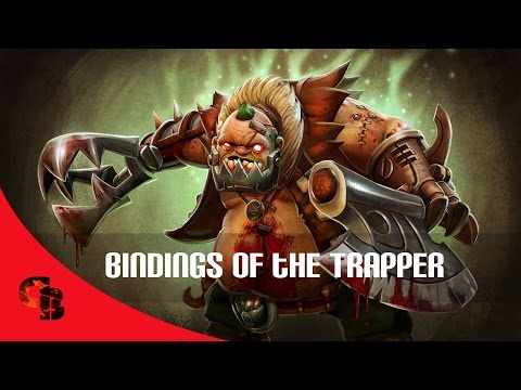 Dota 2: Store - Pudge - Bindings of the Trapper