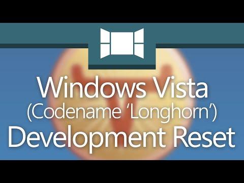 From 'Longhorn' To Vista: The Development Reset