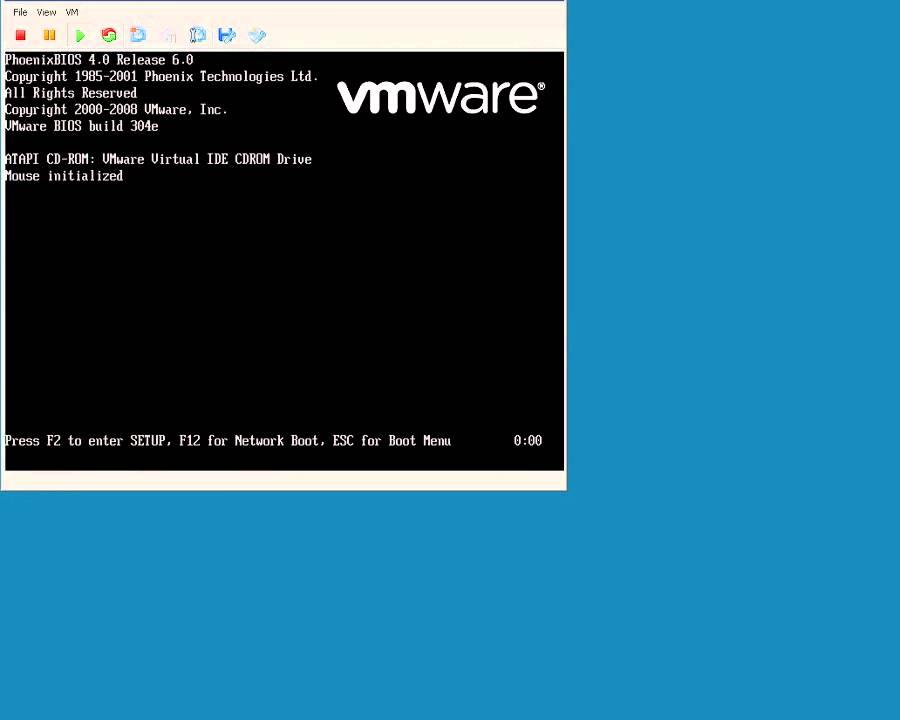 installing vmware video driver