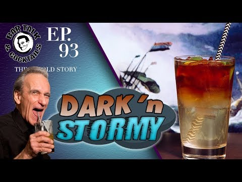 How to make the Dark 'n Stormy Cocktail