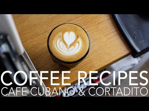 COFFEE RECIPES - Cafe Cubano & Cortadito