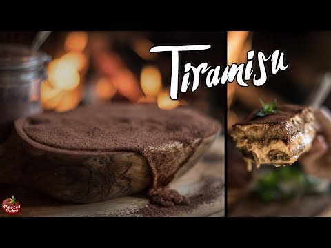 BEST TIRAMISU EVER! -  FROM SCRATCH, UNBELIEVABLE!