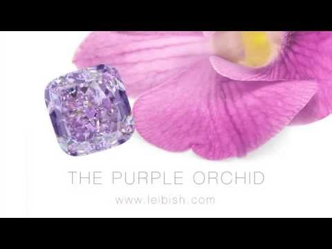 The Leibish & Co. Purple Orchid diamond